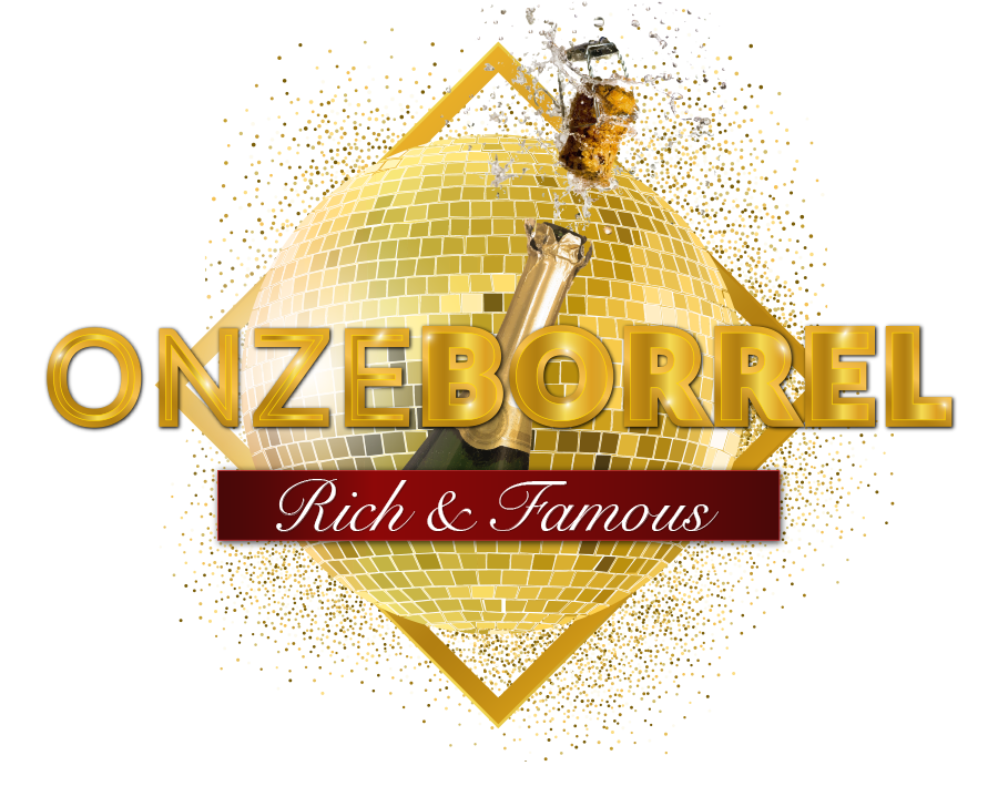 onzeborrel rich&famous logo websitekopie